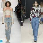 Модные фасоны джинс
