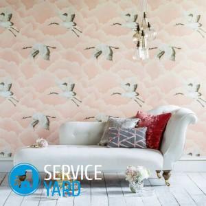 Цветные обои — идеальное украшение стен