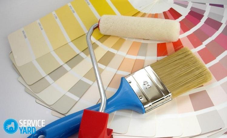Акриловая краска для стен - Ремонт своими руками