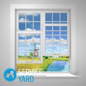 Имитация окна на стене