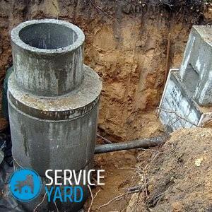 Установка бетонных колец для канализации своими руками