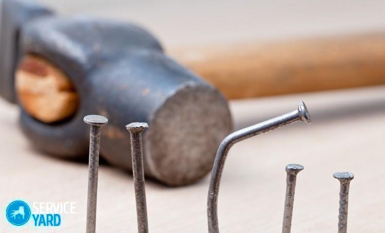 Как забить гвоздь в бетонную стену? Ремонт своими руками