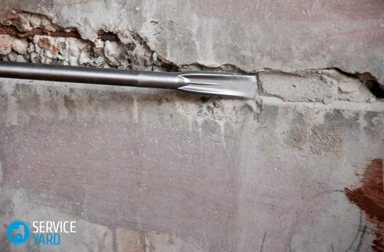 Как очистить стены от шпаклевки и штукатурки? Ремонт своими руками