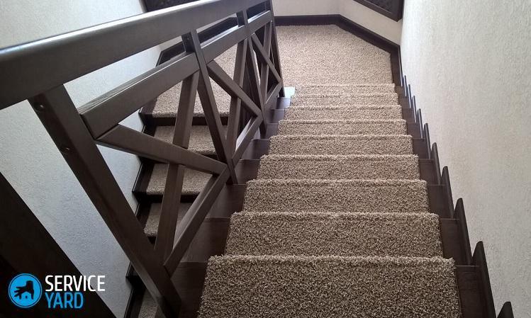 Ковролин на лестницу - Ремонт своими руками