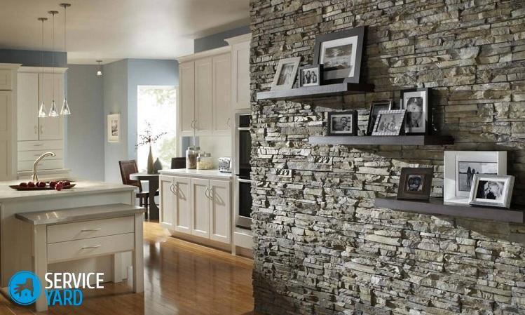 Декор стен на кухне - Ремонт своими руками