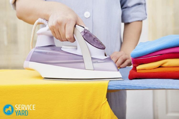 Какие ткани не нужно гладить?