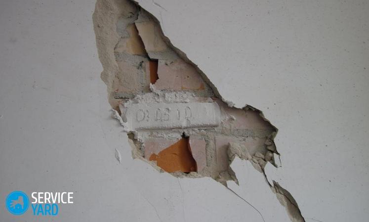 Дырка в стене - Ремонт своими руками