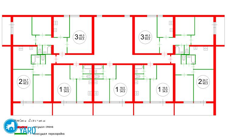 Какие стены можно сносить в панельном доме? Ремонт своими руками