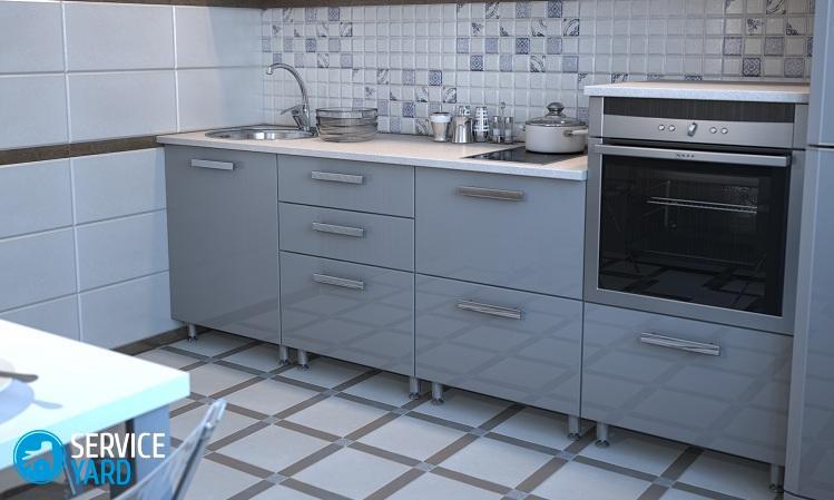 Чистка кафеля на кухне - Ремонт своими руками