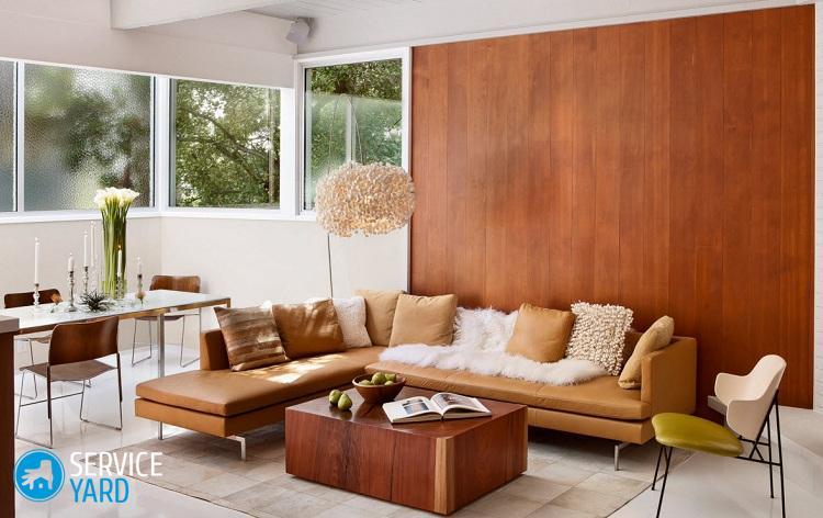 Цвет орех - мебель