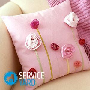 Напольные подушки в интерьере вашего дома