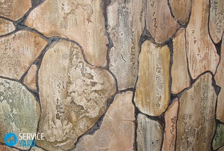 Декоративная штукатурка под камень - Ремонт своими руками