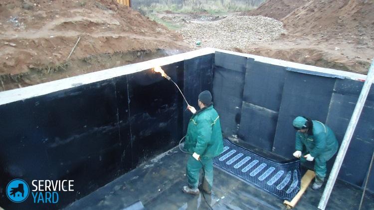Битумная мастика для гидроизоляции