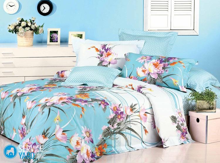 Как отстирать застиранное постельное белье?