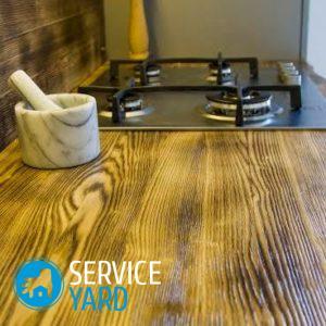 Стоит ли делать столешницу деревянной?