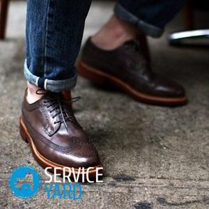 Классическая мужская обувь: основные модели