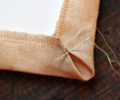 Вышивка оформление паспарту