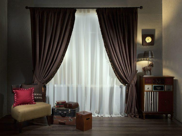 200 креативных идей дизайна штор в зал с фото �� - Ремонт своими руками