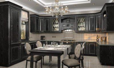 200 идей дизайна интерьера кухни классика с фото 🖼