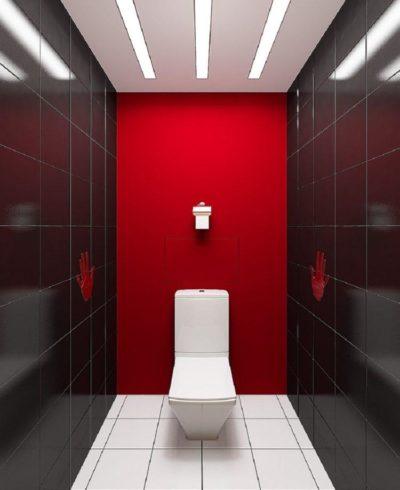 200 идей дизайна интерьера маленького туалета с фото 🖼