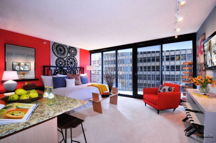 200 идей дизайна интерьера однокомнатной квартиры с фото �� - Ремонт своими руками