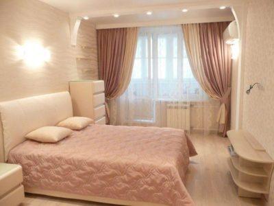 200 идей дизайна интерьера штор в спальню с фото 🖼