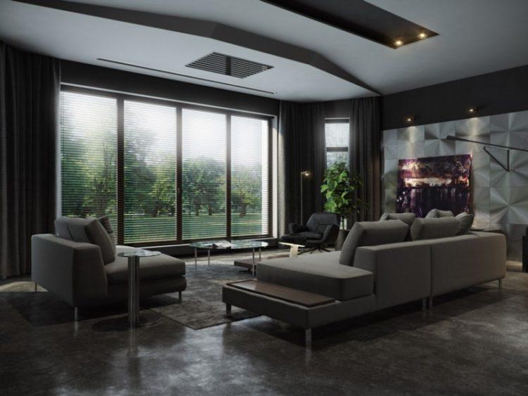 200 необычных идей дизайна интерьера гостиной с фото �� - Ремонт своими руками