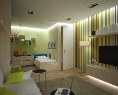 200 идей дизайна интерьера однокомнатной квартиры 17 кв. м. с фото 🖼