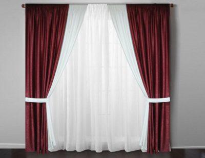 200 идей дизайна штор в гостиную с фото 🖼