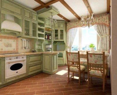 200 идей дизайна интерьера кухни в стиле прованс с фото 🖼