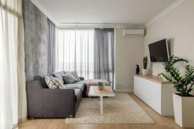 200 идей дизайна интерьера однокомнатной квартиры с фото 🖼