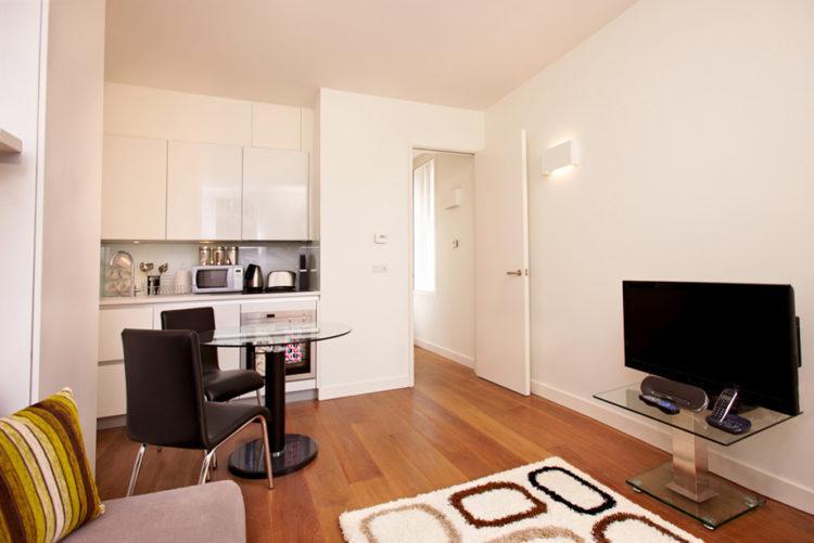 200 идей дизайна интерьера квартиры-студии 20 кв. м с фото �� - Ремонт своими руками