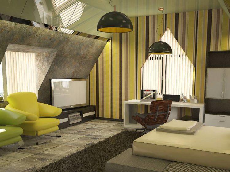 200 идей дизайна интерьера гостиной в стиле лофт с фото �� - Ремонт своими руками