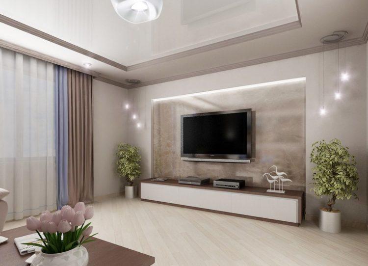 200 идей дизайна интерьера зала с фото �� - Ремонт своими руками