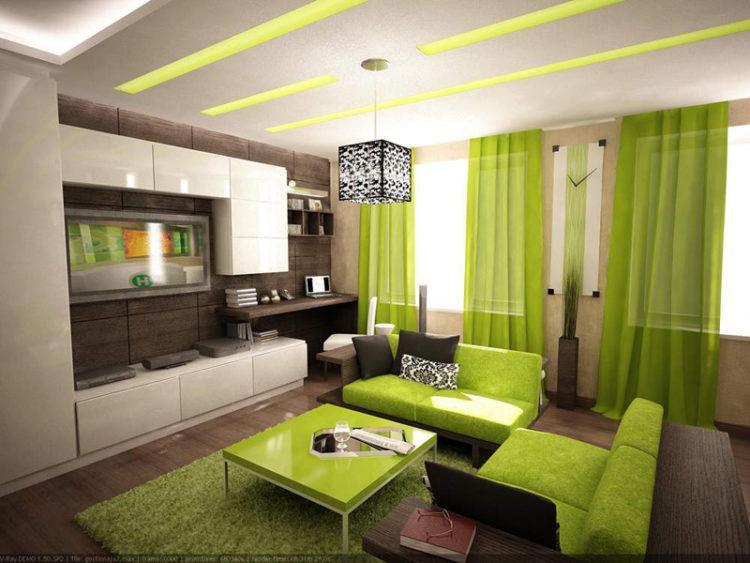 200 идей дизайна интерьера зала в квартире 18 кв. м с фото �� - Ремонт своими руками