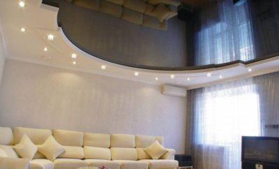 200 идей дизайна натяжных потолков с фото 🖼