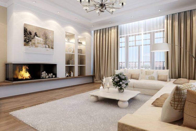 200 свежих идей дизайна интерьера гостиной с фото �� - Ремонт своими руками