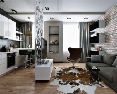 200 идей дизайна интерьера квартиры-студии 25 кв. м с фото 🖼