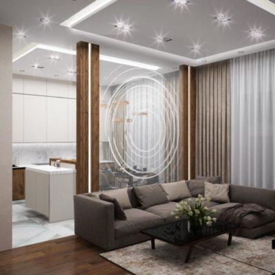 200 идей дизайна интерьера однокомнатной квартиры 30 кв. м с фото