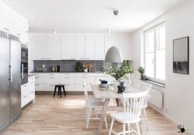 200 идей дизайна интерьера кухни-столовой с фото 🖼