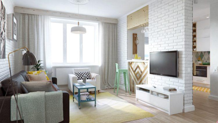 200 идей дизайна интерьера двухкомнатной квартиры с фото �� - Ремонт своими руками