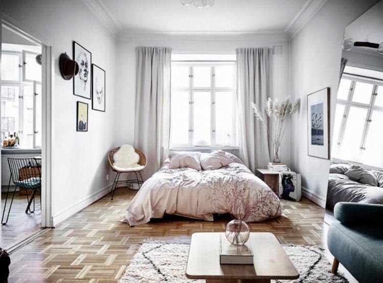 200 идей дизайна интерьера маленькой спальни 9 квадратных метров с фото �� - Ремонт своими руками