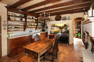 200 идей дизайна интерьера кухни в деревенском стиле с фото 🖼
