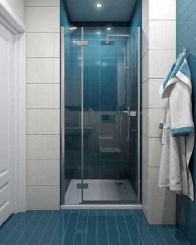 200 идей дизайна интерьера ванной комнаты с душевой кабиной с фото 🖼