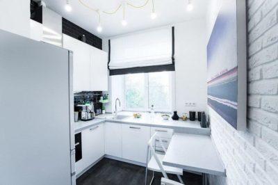 200 фото дизайна маленькой кухни в хрущевке на любой вкус 🖼