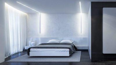 200 идей дизайна интерьера спальни в стиле минимализм с фото 🖼