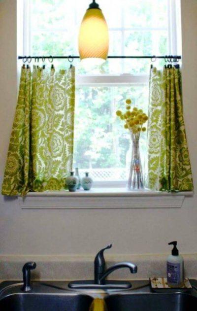 200 актуальных идей дизайна кухонных штор с фото 🖼