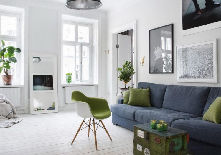 200 идей дизайна интерьера гостиной в скандинавском стиле с фото �� - Ремонт своими руками