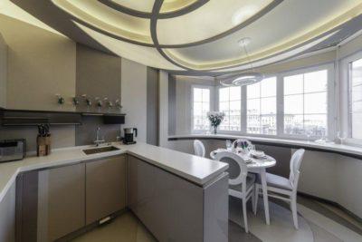 200 идей дизайна кухни, совмещенной с балконом с фото 🖼