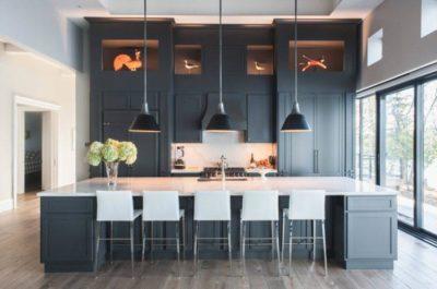 200 идей дизайна интерьера с люстрой на кухню с фото 🖼
